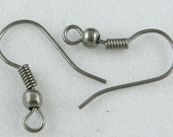 18mm Earring Hooks Gunmetal DIY Jewelry Pendant Bracelet Necklaces,