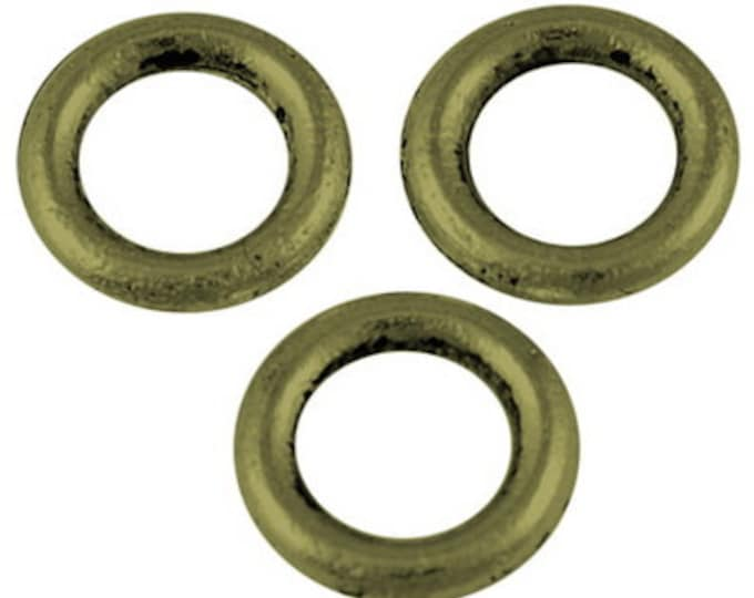 8mm Jump Rings 1.5mm thick Antique Bronze DIY Jewelry Making Findings.