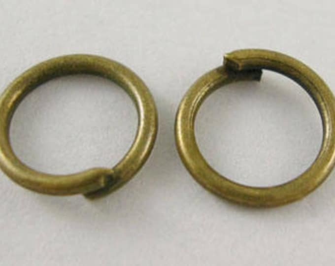 5mm/ 6mm/ 8mm Jump Rings Antique Bronze DIY Jewelry Supplies.