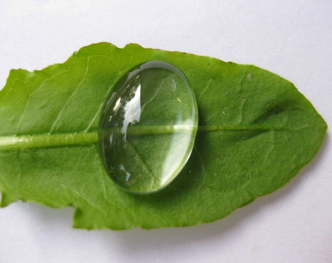 10x14mm Oval Glass Cabochons clear Bezel Domes DIY Jewelry Pendant Bracelet Necklaces, 100 Pcs