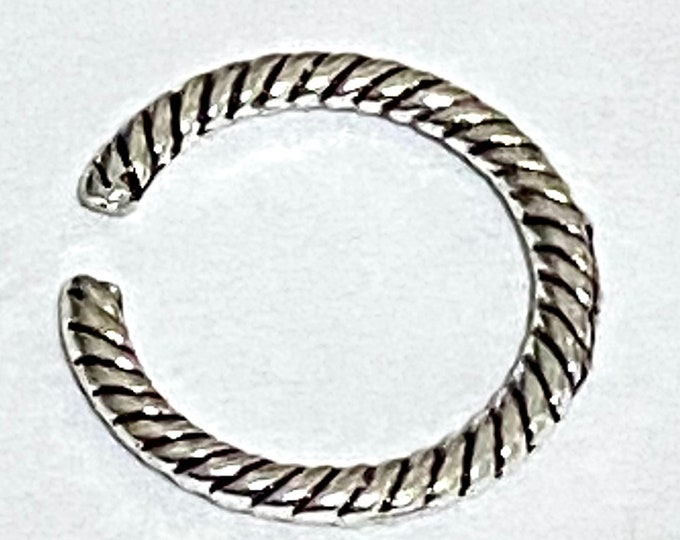 13mm  Linking Ring Antique silver DIY Jewelry Findings.