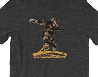 a77126868 Dabbing Bigfoot, Bigfoot Shirt, Dabbing Shirt, Big Foot Shirt, Bigfoot  Party, Sasquatch, Bigfoot, Dance Shirt, Dabber, Meme Shirt