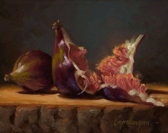 Opened Up #4 - Fine Art Giclee Print - Original Oil Painting - Still Life - Kitchen Decor