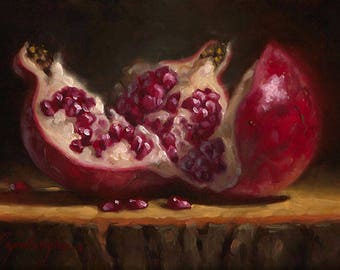 Opened Up #5 - Fine Art Giclee Print - Original Oil Painting - Still Life - Kitchen Decor