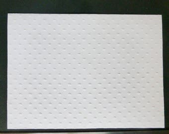 White embossed card/page peas A4 21 * 29. 7 cm 210 g