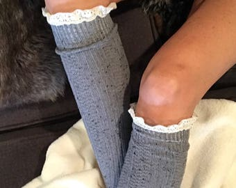 Boot Sock, Lace Boot Socks, Womens Lace Boot Socks, Lace Boot Socks, Lace Socks, Boot Toppers, Lace Leg Warmers, Lace Cuffs, Lace Toppers