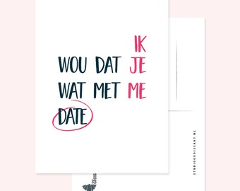 Love: I wish you were dating me