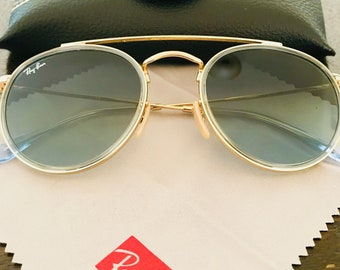 fe15820a25 Items similar to Vintage sunglasses B L Ray Ban Wayfarer I Olympic ...