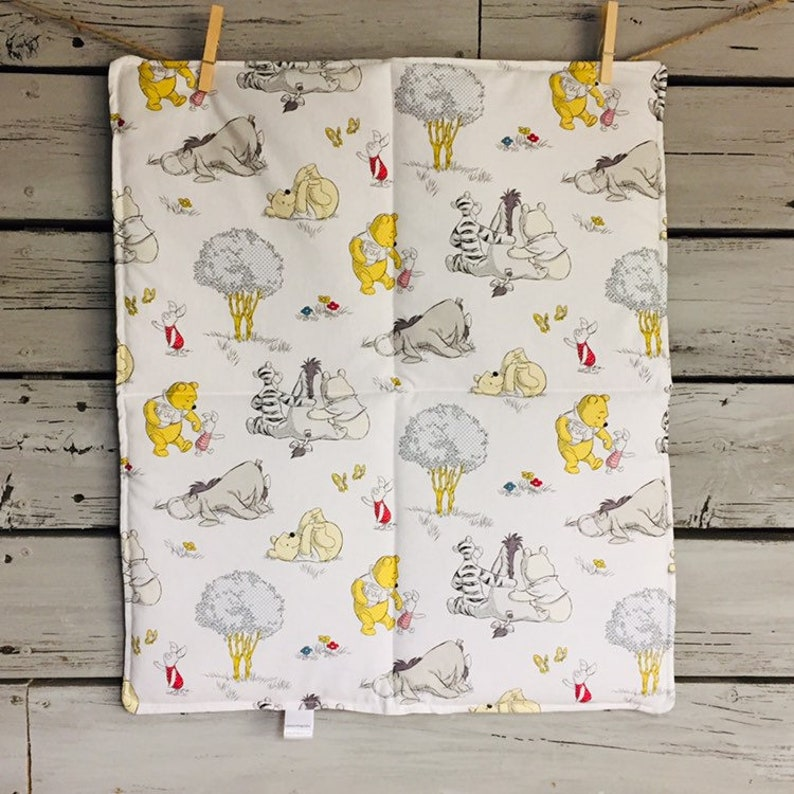 changing pad nursery bedding accessory decor and tigger baby playmat wipe Winnie the Pooh baby shower gift eyeore piglet