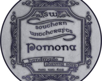 Pomona Vegan Shaving Soap