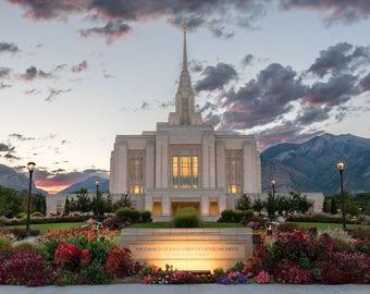 Ogden Utah Temple Cufflinks