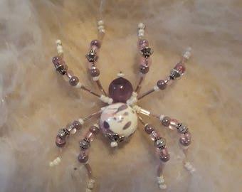 Christmas Spider Beaded Ornament Beaded Spider