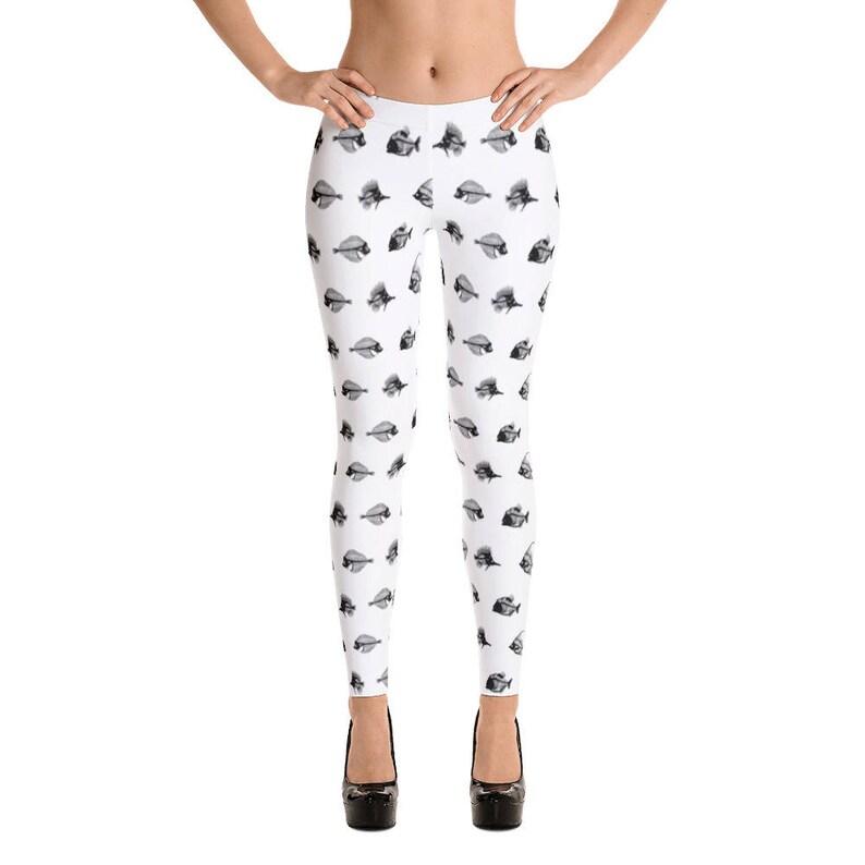 730daf21c0b56 Fish bone leggings Best Dang Leggings white leggings fish
