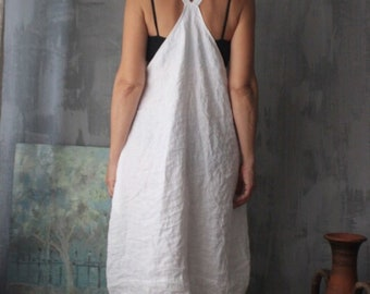 da53fc74b1 Large linen dress