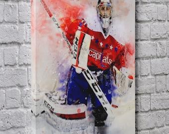 e36523d05 Braden Holtby Washington Capitals Nhl Hockey Artwork