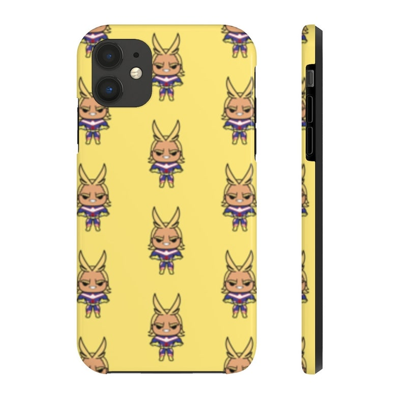 My Hero Academia Phone Case All Might Pattern Anime Phone image 0