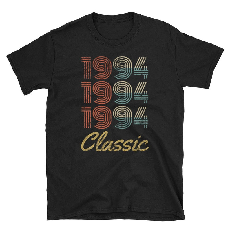 Vintage 1994 Classic T-Shirt 25th Birthday Gift 25 Year Old image 0