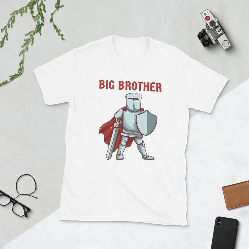 Knight Big Brother Shirt Strong Big Brother Tee Shirt image 0