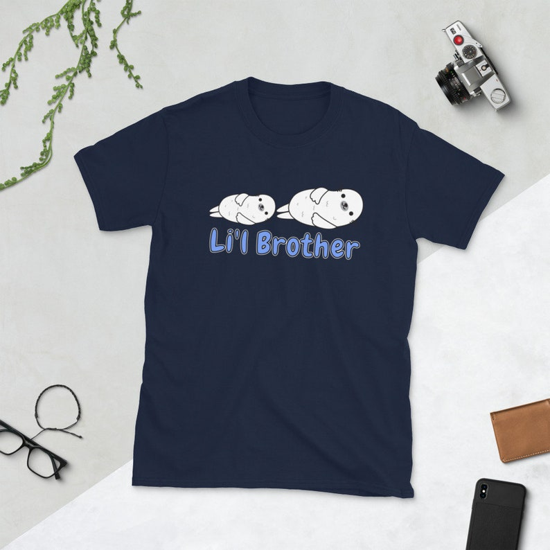 Seal Lil Brother Shirt I'm The Li'l Brother Seal Tee image 0