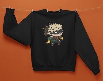 Kacchan, Katsuki Bakugo Sweatshirt, My Hero Academia Unisex Sweatshirt, Boku No Hero Gift, UA High School, Explosion Quirk, Adult Sweatshirt