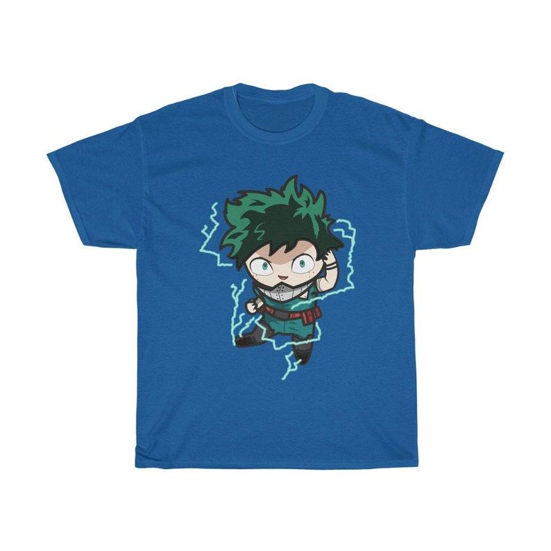 My Hero Academia Shirt Deku Hero TShirt Full Cowling Plus Royal