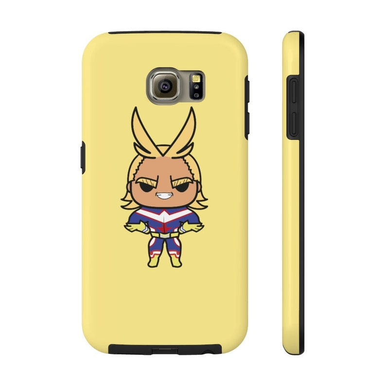 My Hero Academia Phone Case All Might Anime Phone Case Mate image 0