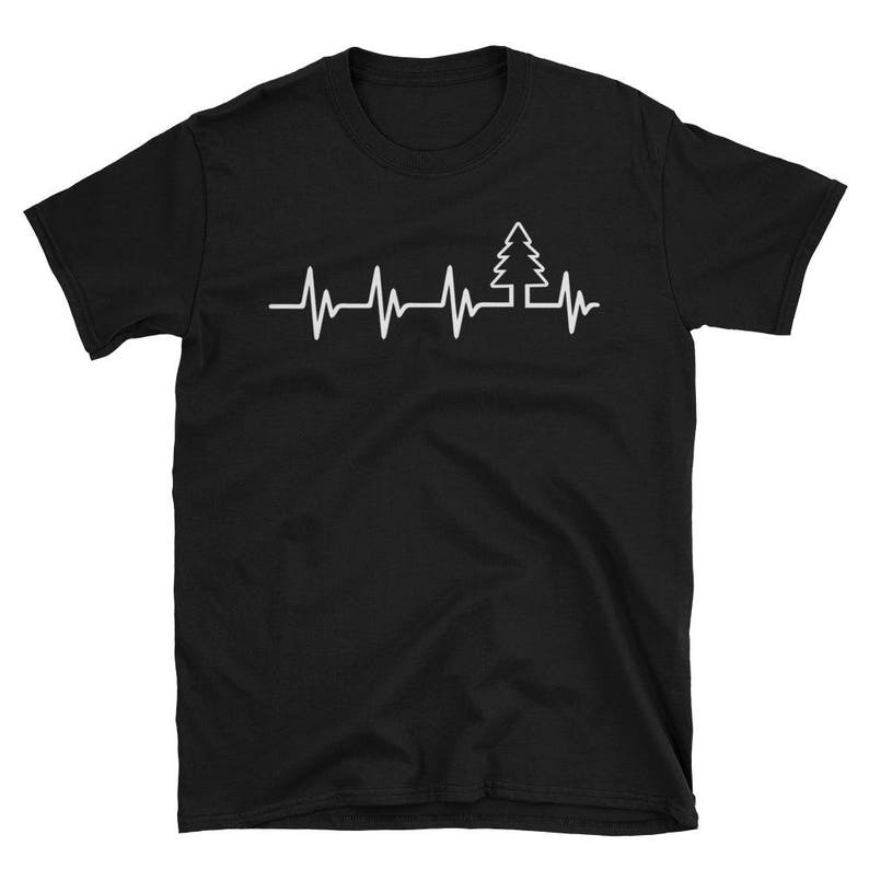 Heartbeat Tree Shirt Tree Lover Gift Gift For Tree Lover My image 0