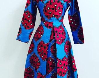 Dress, officeware, Ankara dress
