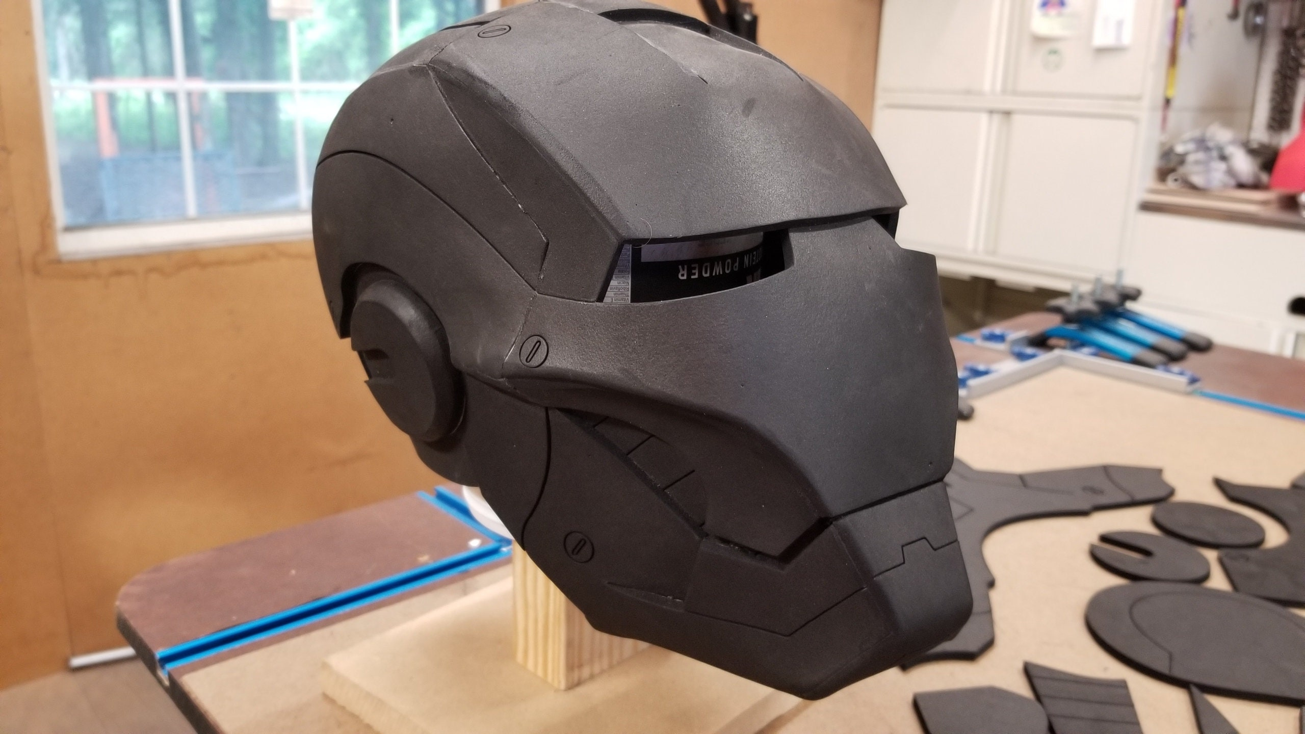 Iron Man Mark III helmet kit