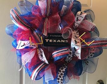 Houston Texans Wreath