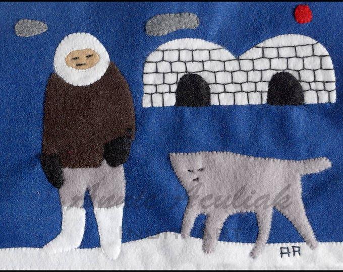 Print #10: Noah's Wolf