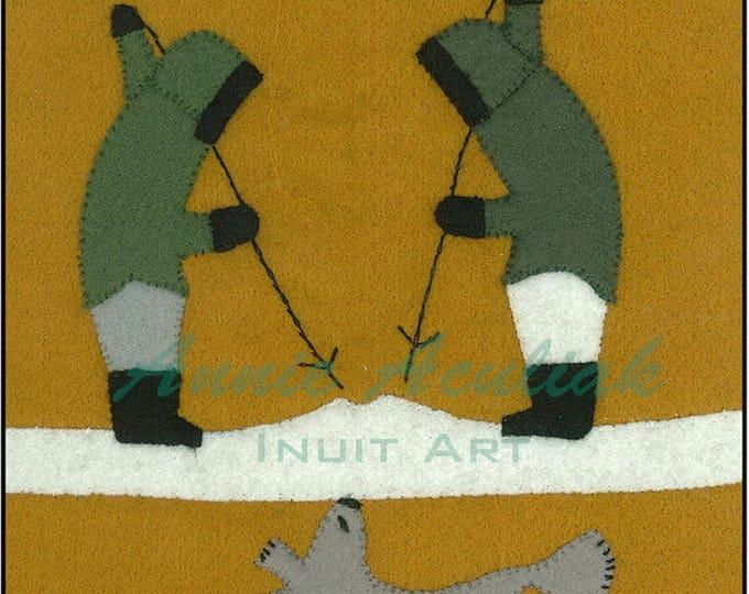 Print #4:  The Hunters