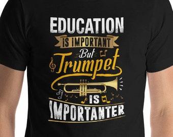 ff2ab49990 Trumpet Shirt, Marching Band T Shirt, Funny Marching Band Shirt, Music  Shirts, Funny Trumpet T-Shirt, Musician Gift, Trumpet Player, Trumpet
