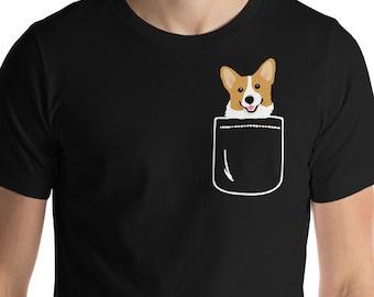 Corgi Pineapple Cute Lover Dog T Shirt Pembroke Welsh Corgi Tees Gift idea New