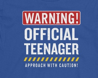 13th Birthday Shirt Thirteenth Official Teenager Double Digits 13 Year Old Teen Gift Boy Girl