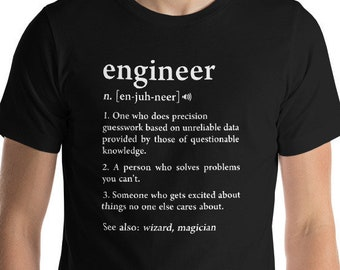 f94adec05c5f Engineer Gifts, Engineer Shirt, Engineer Definition, Funny Engineer,  Engineering, Gift for Engineers, Programmer Gift, Gift for Him, Coding