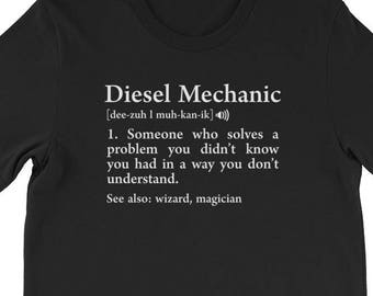 2ebb7526 Diesel Mechanics Funny T-Shirt, Mechanic Definition, Engineer T-Shirt, Mechanics  Gift T-Shirt, Funny T-Shirt, Funny Gift For Engineer