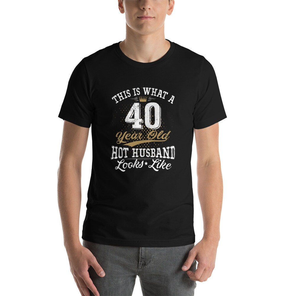 40th Birthday Gift Shirt Turning 40 Years Old Vintage