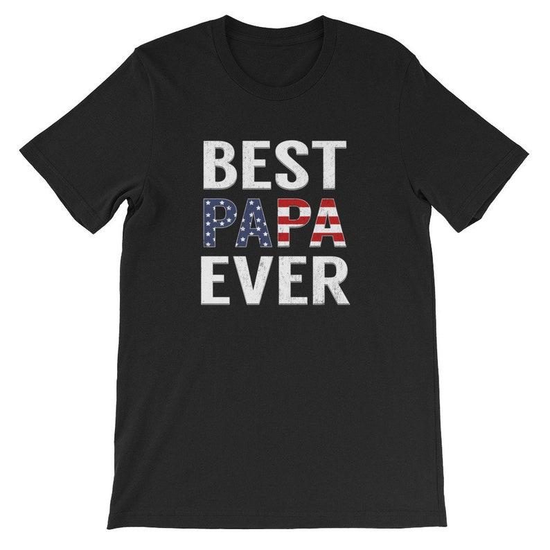 2564af86 Papa Shirt Best Papa Ever T Shirt Mens T Shirt Dad Shirt   Etsy