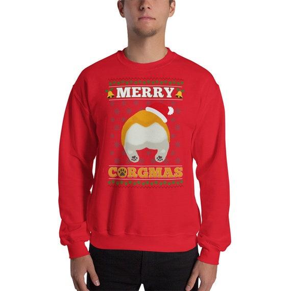 merry corgmas merry christmas corgi corgi gifts corgi sweatshirt corgi sweater corgi christmas sweater ugly christmas sweater dog