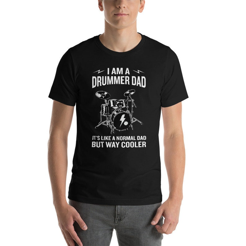0d39219e Drums T Shirt Drummer Shirt Fathers Day Gift Band Tee Gift | Etsy