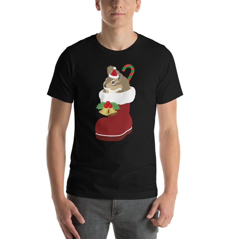 31aadc18a Squirrel Shirt Christmas Shirt Christmas Party Holiday | Etsy