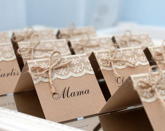 Name cards Etsy