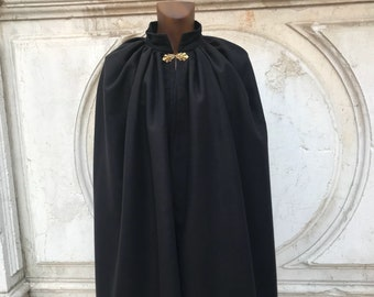 Hand made wool cape.