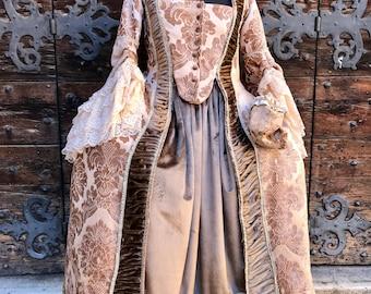 Vintage 18th century Costume handmade.
