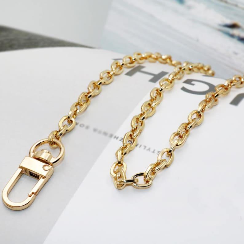 c69f13275a1d7 High Quality Purse Chain Metal Shoulder Handbag Strap
