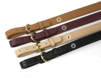 A piece of adjustable purse handle PU leather strap for Bag Leather Replacement Strap Handles handbag handle CAE069