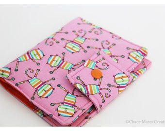 Art Wallet, Crayon Wallet, Art Portfolio, Art Case, To Do List Wallet, Rainbow Kitties