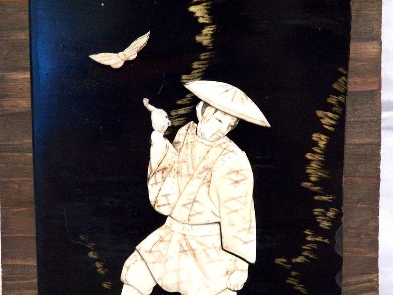 Mobili Cinesi Laccati Neri : Tavolo laccato nero cinese china 19th vecchia lacca cinese etsy