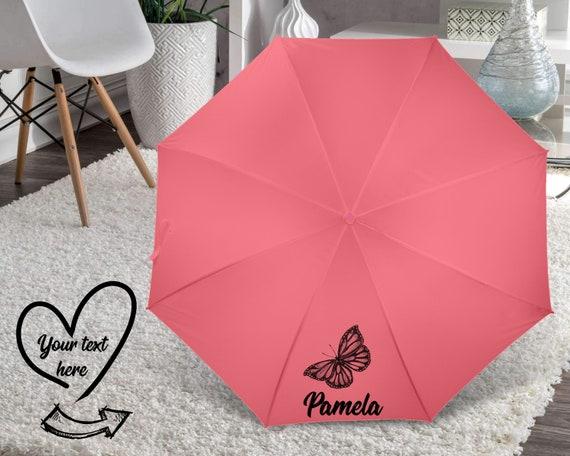 Personalised Umbrella, Custom Umbrella, Grandmother gift, Women gift, Personalized parasol, Boss gift, Co worker gift U7